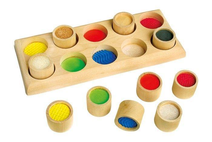 Gioco tattile scatola per aiutare la memoria giocattolo per bambini e scuola