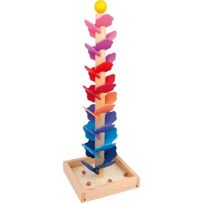 Pista per biglie con melodia gioco in legno per bambini