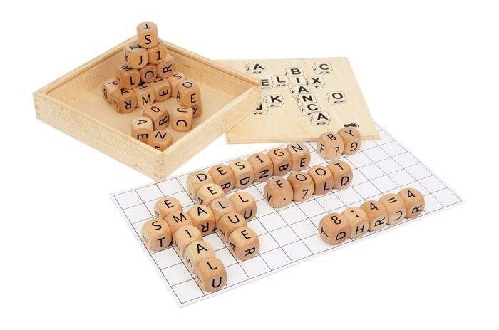 Paroliere/Telaio sistemare le parole deluxe in legno gioco per bambini