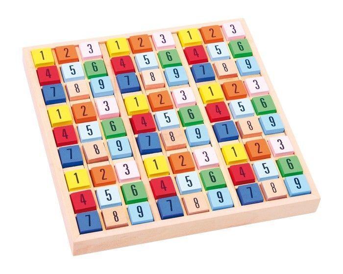 Sudoku in legno gioco classico di società matematico Legler 2117
