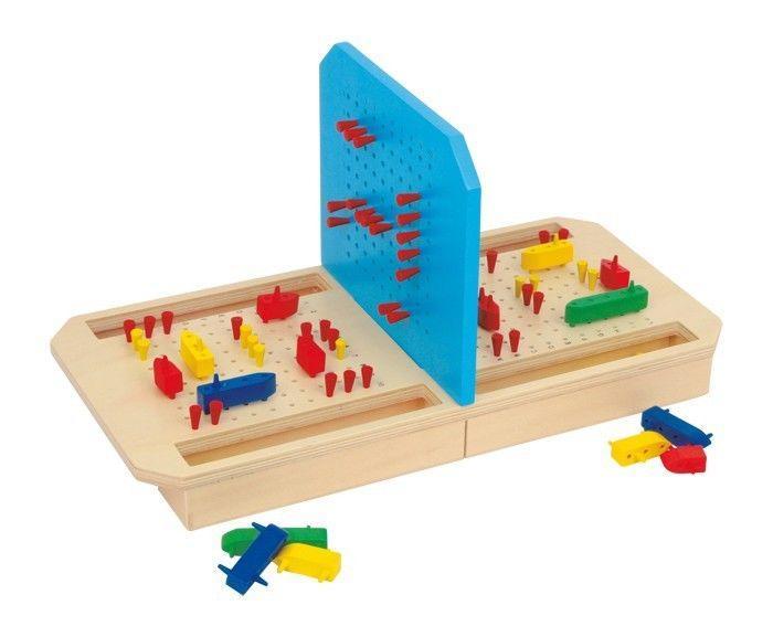 Battaglia Navale Gioco Da Tavolo In Legno Per Bambini Ed Adulti