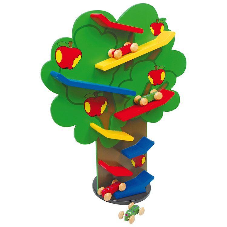 Torre albero a cascata gioco per bambini in legno x stimolo motricità