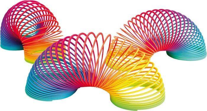 Espositore Display Spirale colorata gioco giocattolo per bambini
