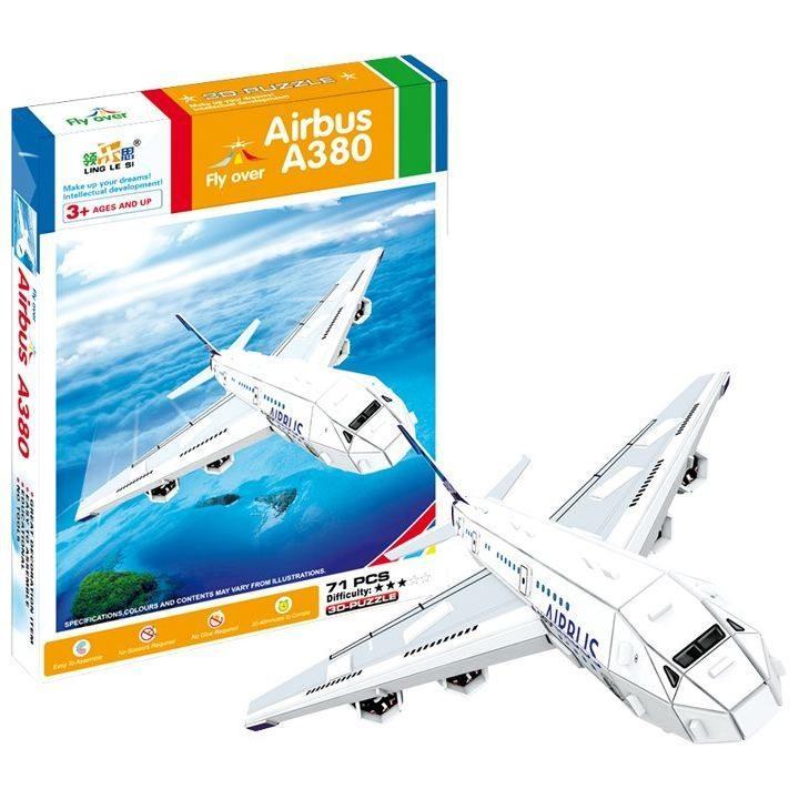 Puzzle 3D Aeroplano - Airbus