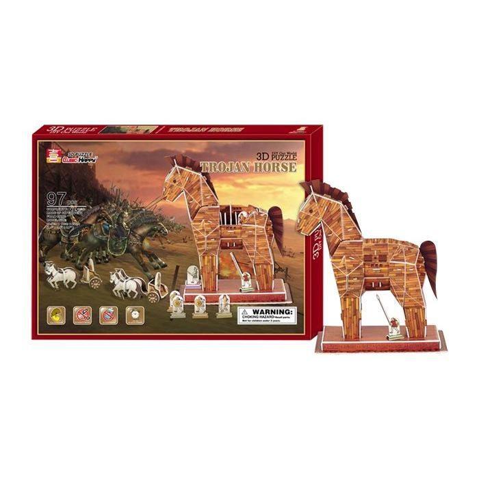 Puzzle 3D, Cavallo di Troia