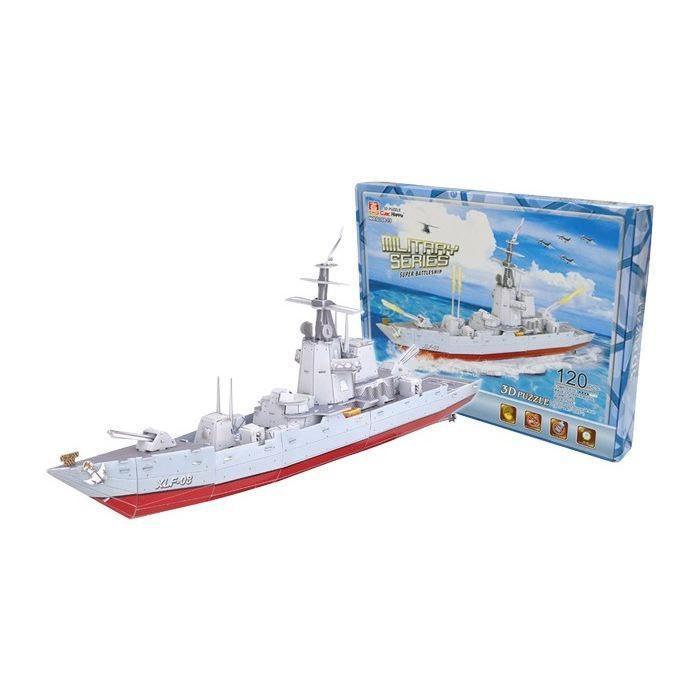 Puzzle 3D Nave da Guerra 120 pezzi