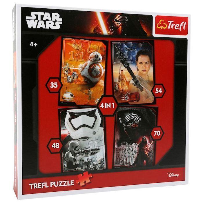 Puzzle 4 in 1 Star Wars Legler 10423