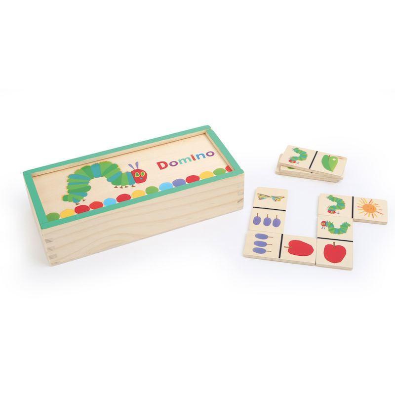 Domino in legno Bruco Maisazio Gioco Legler 10429