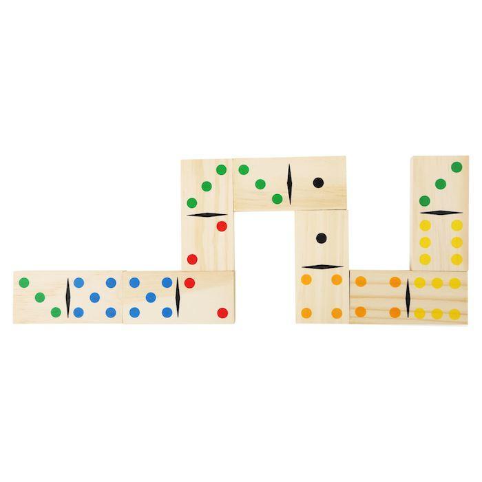 Domino in legno Gigante con borsa trasporto Gioco Legler 10466