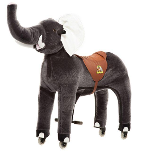 Cavallo Cavalcabile con ruote Elefante