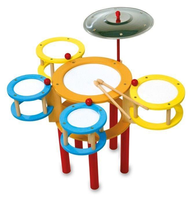 Batteria colorata Strumento Musicale giocattolo bambini