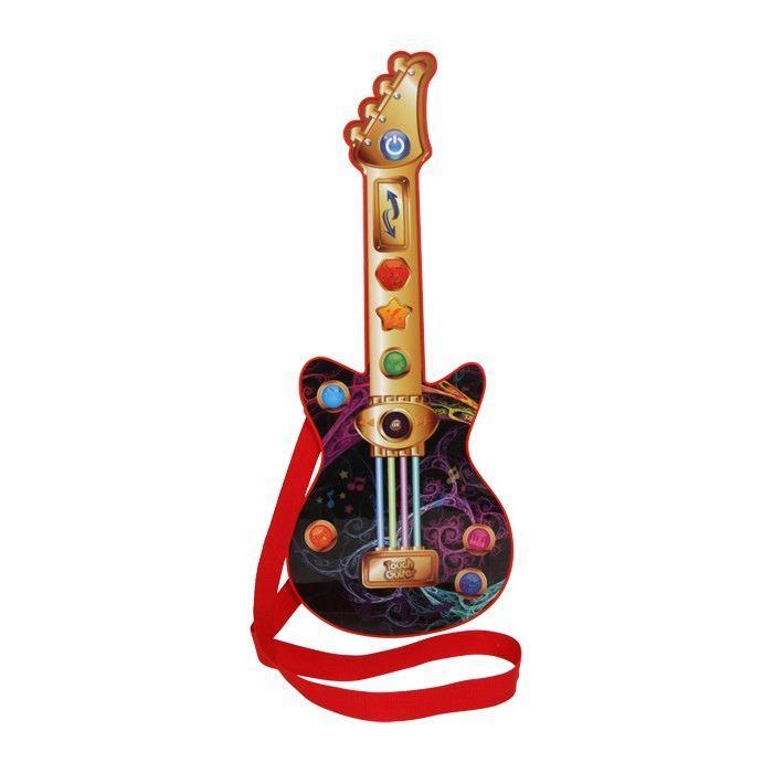 Chitarra con bottoni musicali strumento musicale gioco bambini