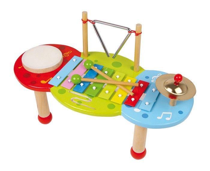 Xilofono Deluxe strumento musicale legno gioco bambini