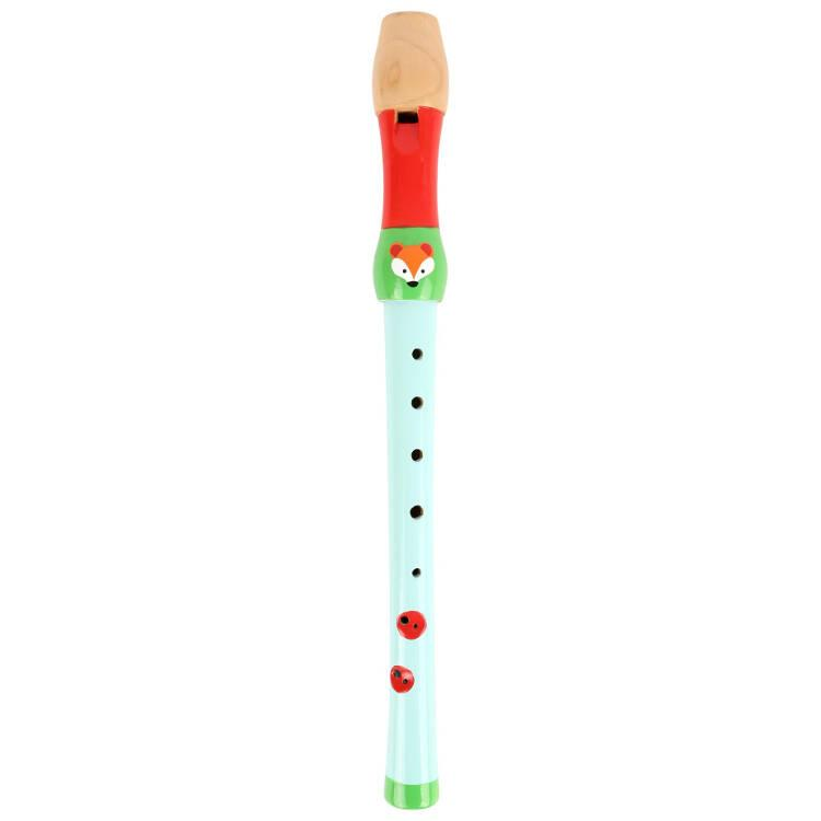 Flauto dolce Volpacchiotto strumento musicale bambini