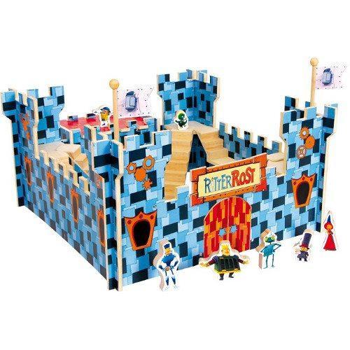Castello in legno Ritter Rost il cavaliere ruggine Legler