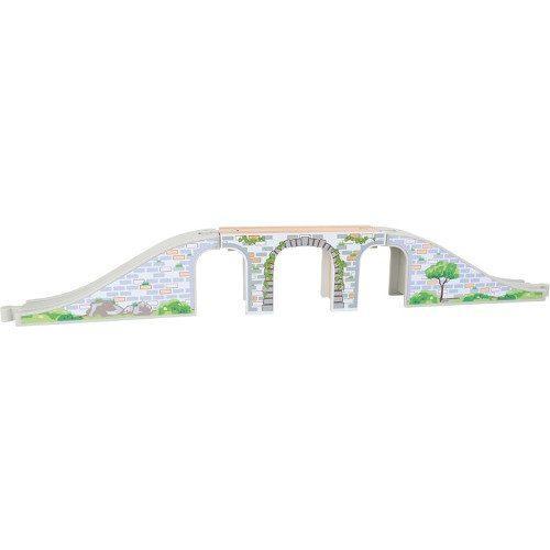 Ponte in legno Accessori per ferrovia trenino