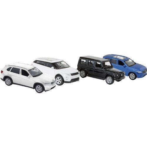 Modellino Auto veicolo Fuoristrada sportivo Scala 1:60 Espositore display negozio edicole