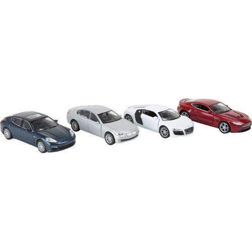 Modellino Auto sportive moderne con porte apribili Espositore display