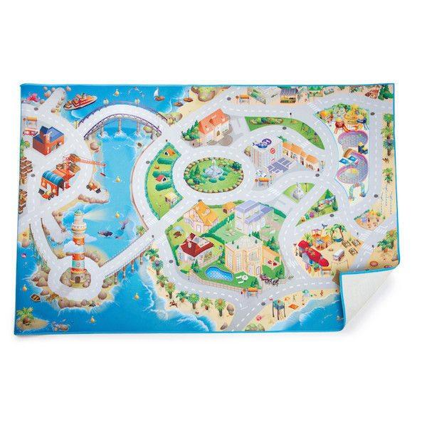 Tappeto da gioco Isola del divertimento Arredo cameretta Legler 10409