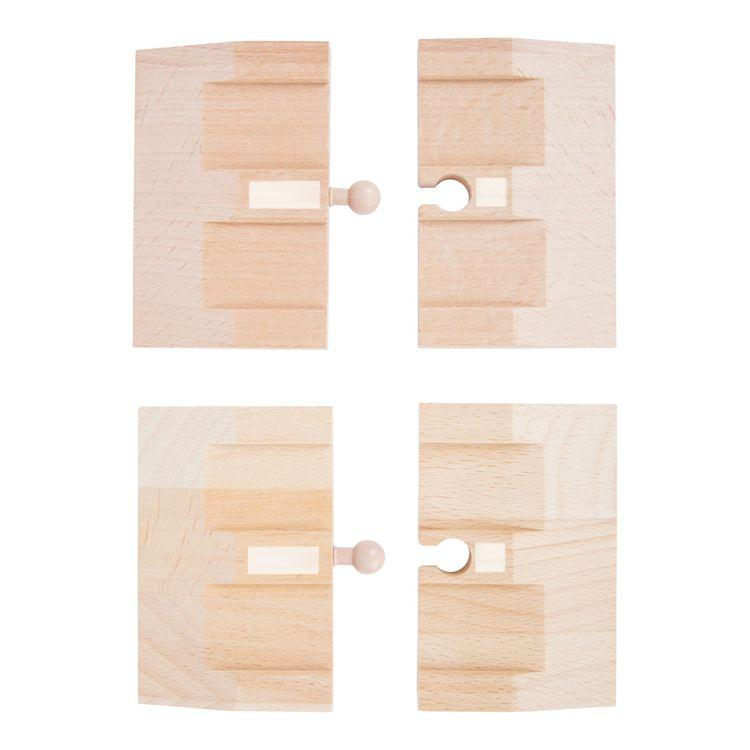 Set Strada rampe Accessori trenino legno Small Foot World