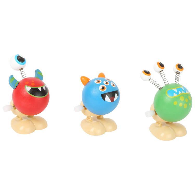 Mostri saltellanti gioco in legno bambini espositore display