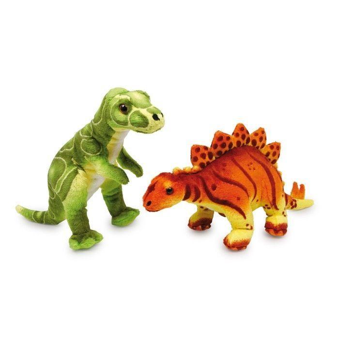Animale di Stoffa Coppia Peluche Dinosauri