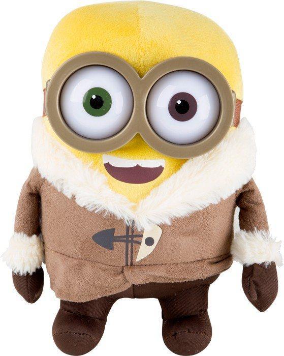 Peluche Minions Bob con abbigliamento che va in spedizione