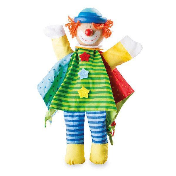 Marionetta per le dita Clown Legler 10235