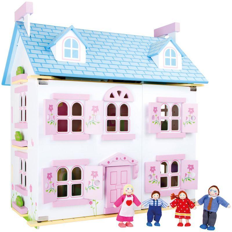 Casa delle bambole in legno Sogno florealeGioco Legler 10325