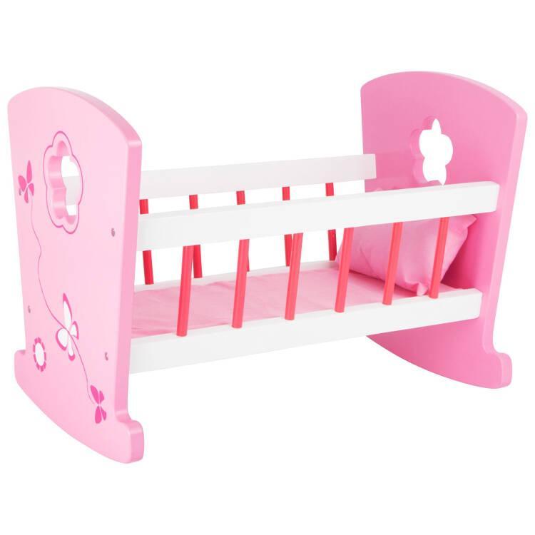 Culla in legno per bambole sogni di bambine Legler 10742