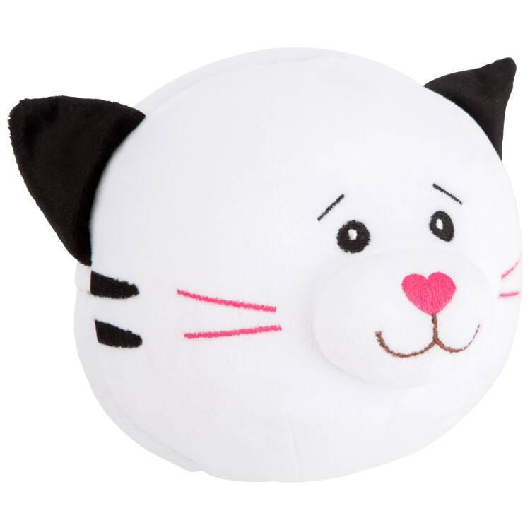 Palla peluche per neonato Gatto e topo