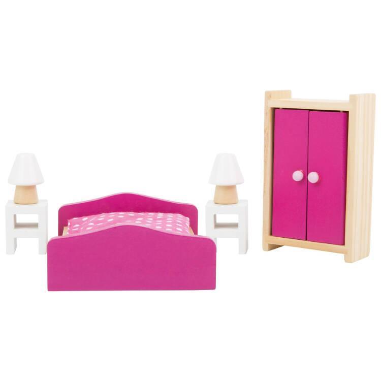 Mobili per Casa delle bambole Camera da letto