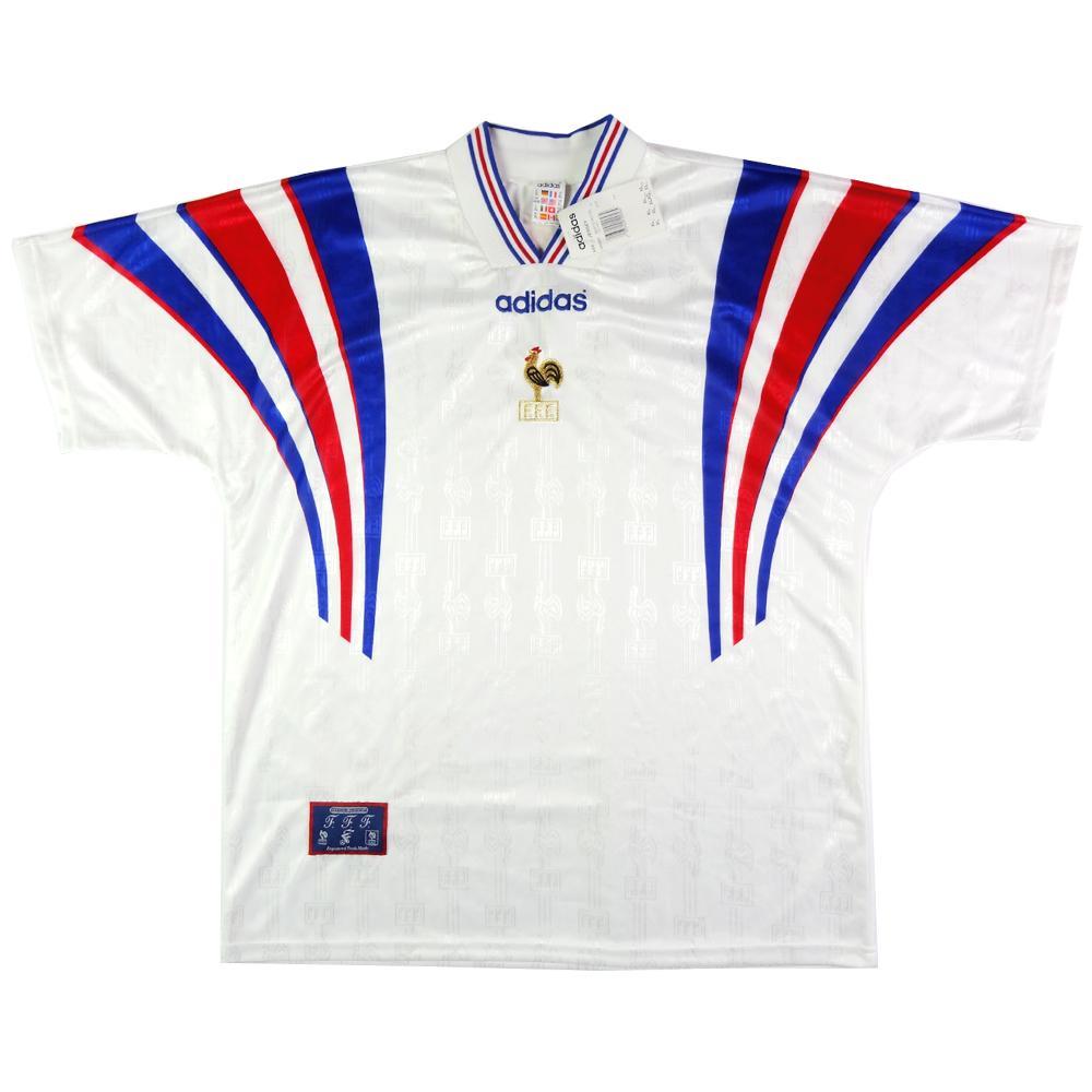1996-98 Francia Maglia Away XL *CARTELLINO