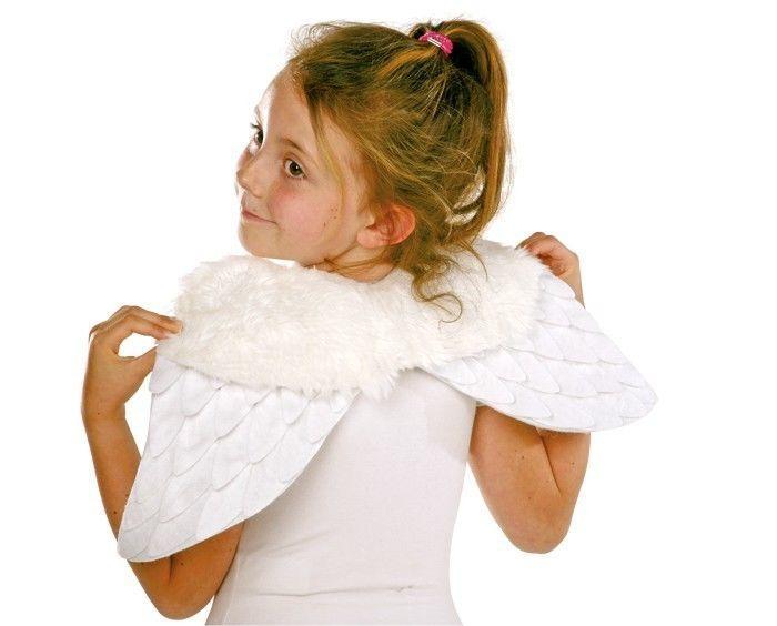 Ali da angelo per Halloween Carnevale Travestimento per bambini
