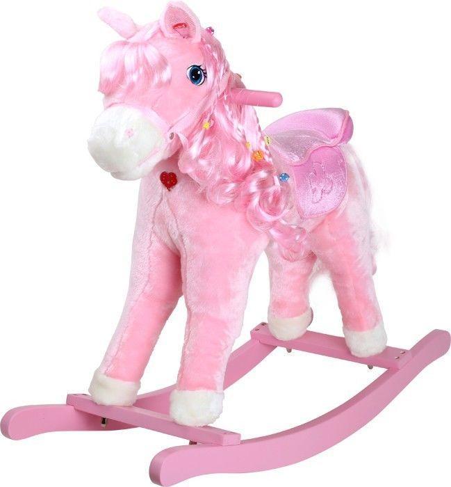 Cavallo/Pony a dondolo con illuminazione gioco per bambini