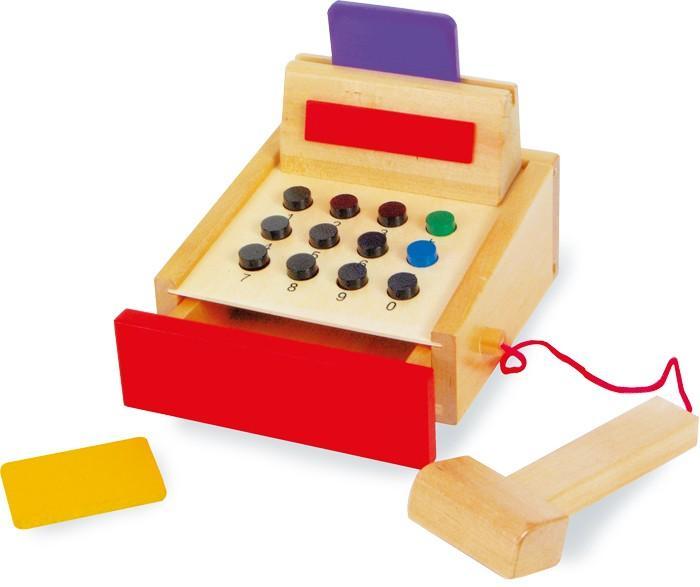 Cassa da negozio-bancarella in legno gioco per bambini Legler 1606