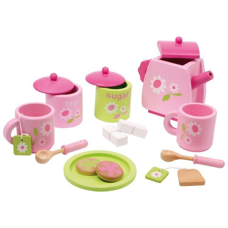 Servizio da the giocattolo Rosa