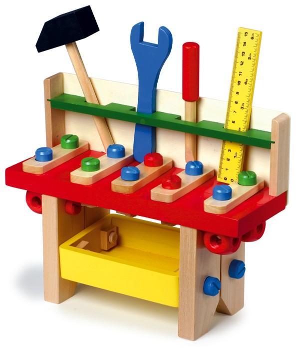 Banco-tavolo da lavoro professionale con utensili