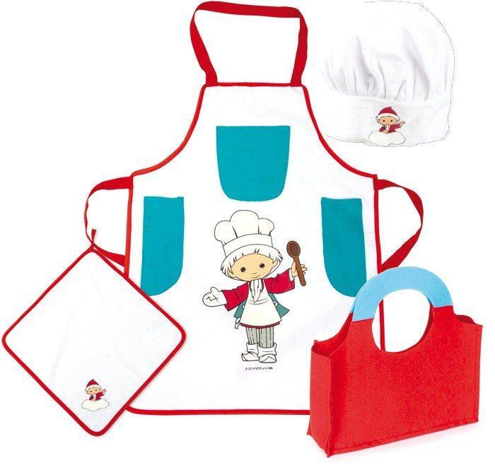 Set abbigliamento da cuoco per bambini Omino del sonno Legler