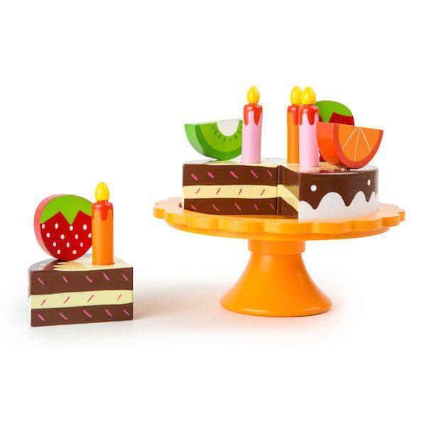 Torta di compleanno in legno Gioco cucina Legler 10167