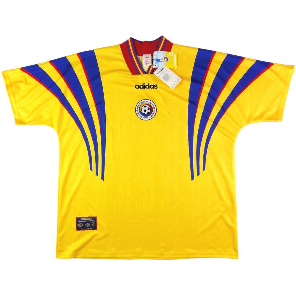 1996-98 Romania Maglia Home XXL *Cartellino