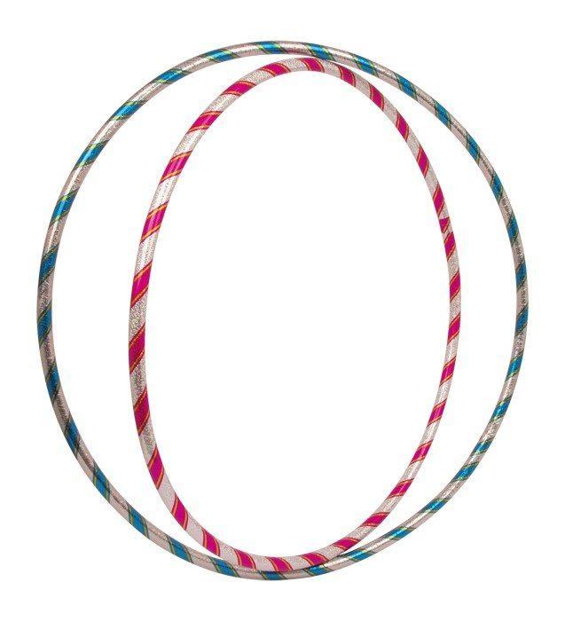 Hula Hoop scintillanti Set da 2