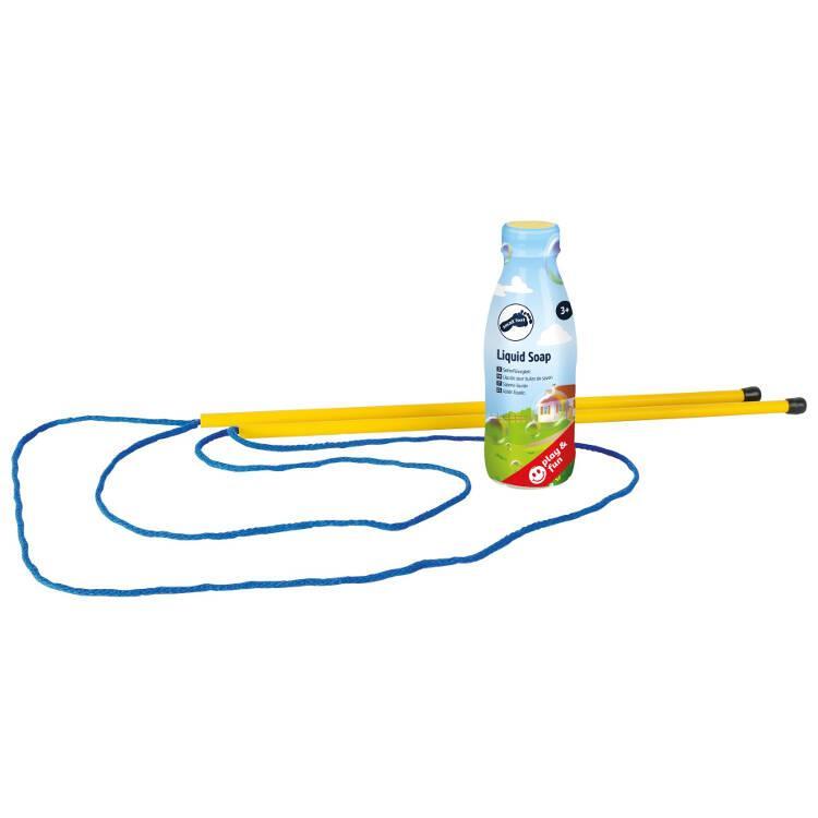 Kit bolle di sapone 400ml con corde e bacchette Extra Large