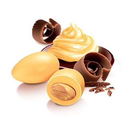 Confezione 500g confetti Papa gusto CioccoZabaione colore giallo