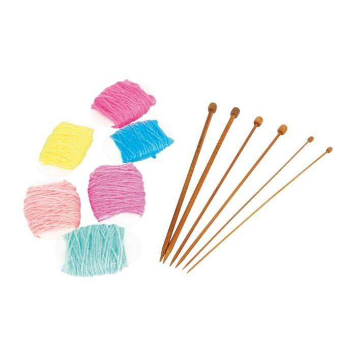 Set da maglia per cucire gioco per bambine