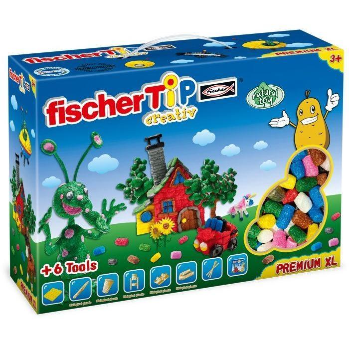 Set Bricolage/costruzioni Amido di patate Fischer TiP Premium Box XL gioco per bambini