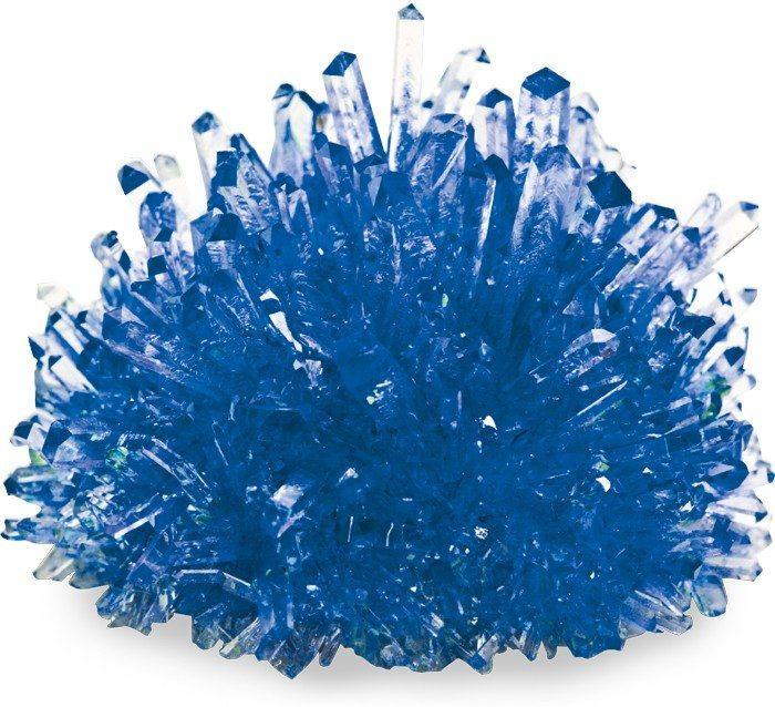Crea Cristalli blu Kit gioco esperimento scientifico per bambini