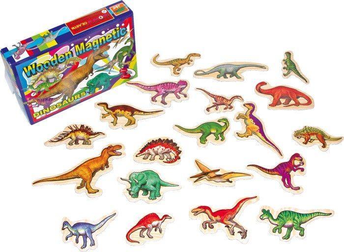Dinosauri magnetici per promemoria 20 fogli