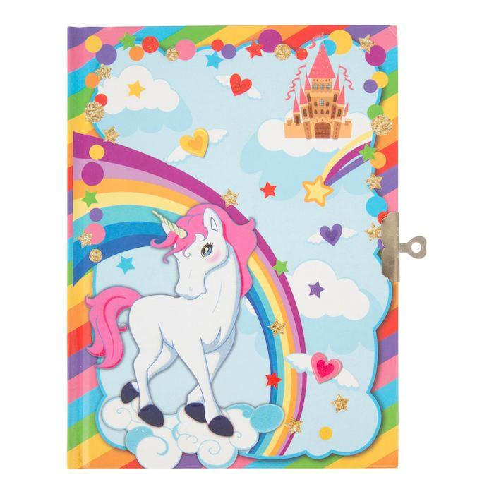 Diario segreto con lucchetto Unicorno Legler 10757