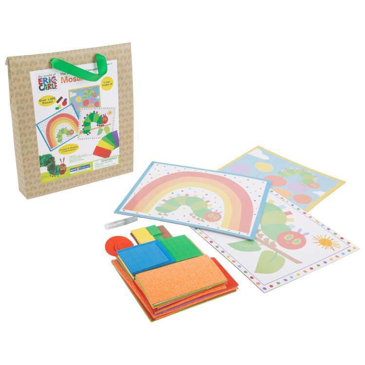 Set bricolage gioco per bambini Mosaico Bruco Maisazio